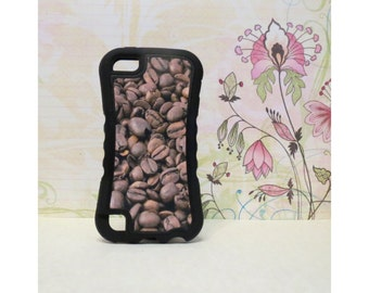 Coffee Bean - Rubber iPod Touch 5 (5th gen) Case