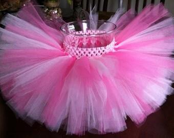 Pink tutu, hot pink light pink tutu, Minnie Mouse tutu, pink Minnie Mouse tutu, baby tutu, toddler tutu, newborn tutu, birthday tutu