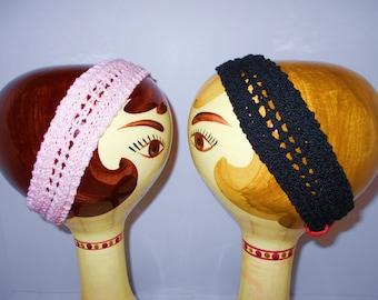 Knitted Cotton Headband