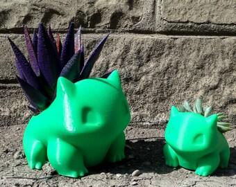 Limited Time SALE!!!, BONUS GIFTS!!!, Bulbasaur, Large Bulbasaur Planter, 3D Printed Pokemon