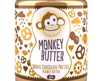 White Chocolate Pretzel Peanut Butter