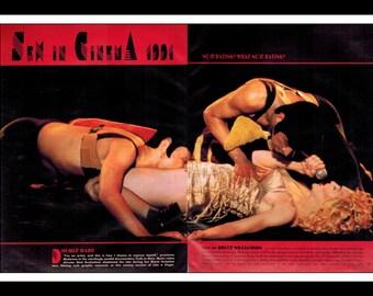 "Celebrity Magazine Print : Madonna 2 Page Spread Photo Wall Art Decor 16"" x 11"""