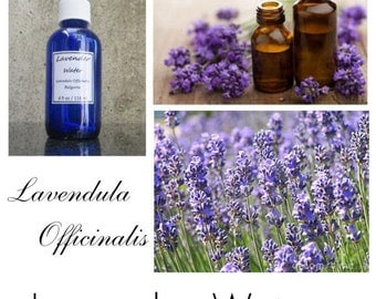 Lavender Water, Lavender Spray, Lavender Linen Spray, Lavender Pillow Spray, Lavender Hydrosol - 100% Pure Authentic Lavender Water