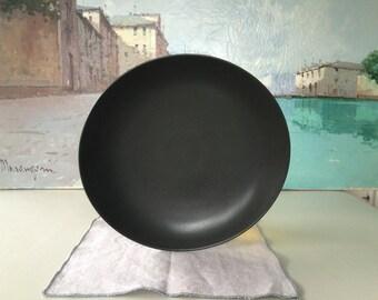 Hakusan Black Japanese Platter/Plate