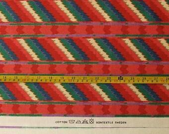 Scandinavian Fabric, Swedish Interior Fabric, Scandinavian Curtains Fabric, 100 Cotton Fabric, Fabric by the Yard