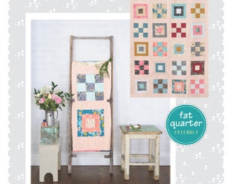 Modern Boxes Quilt Pattern