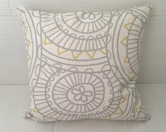 Geometric Flower Pillow Cover *ON SALE