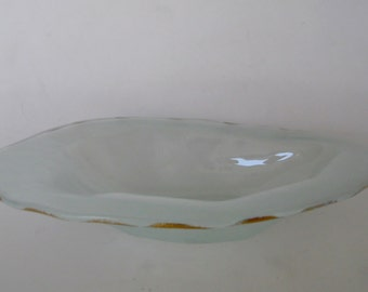 Annieglass Serving Bowl