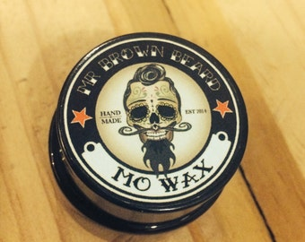 Mr Brown Beard Mo Wax Handmade in Adelaide