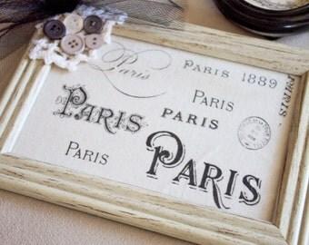 Paris Postcard Pictu