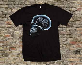 X-Ray Gamer T Shirt 100% cotton - 1981