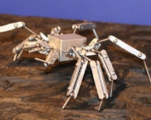 Stop Motion Animation Fully Articulated Ball and Joint  Spider Armature