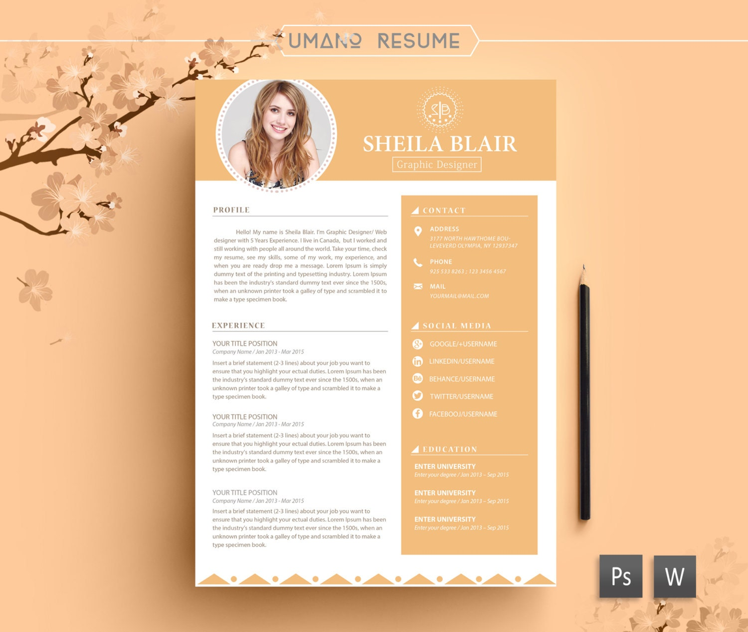 computer engineer resume cover letter design resume template cover letter template the amy smith resume design - Free Resume And Cover Letter Templates
