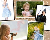 Fairy Dust Overlays - Add sparkle and a little magic to your princess and wizard photos with PNG overlays