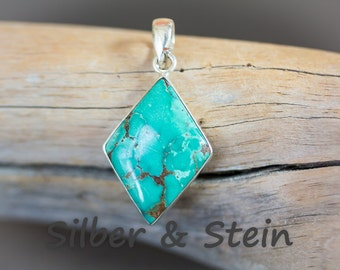 Turquoise Pendant Silver