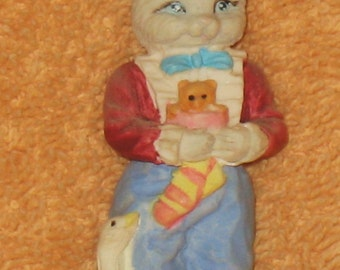 collectible cat figure