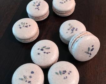 Lavender Macaron (8 pieces)