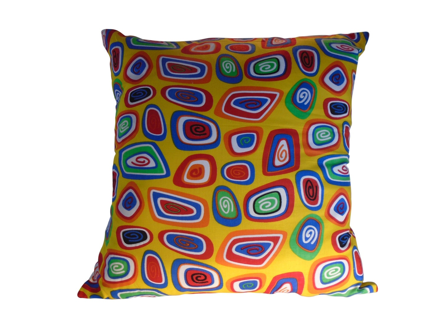 Colorful Pillow Covers on Etsy