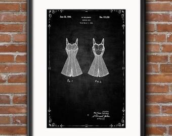 Bathing Suit Poster, Bathing Suit Patent, Bathing Suit Print, Bathing Suit Art, Bathing Suit Decor, Bathing Suit Wall Art - 0405