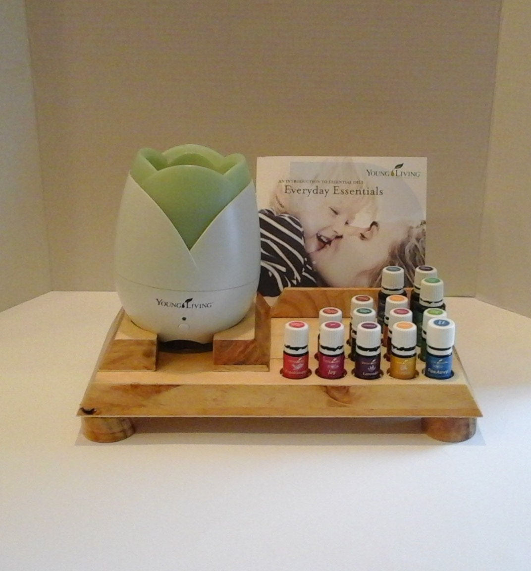 Essential Oil Class Display And Diffuser Stand Unique