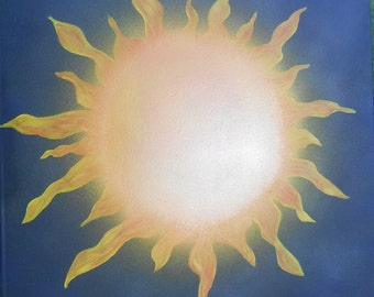 Midnight Sun - original 24'x24' painting