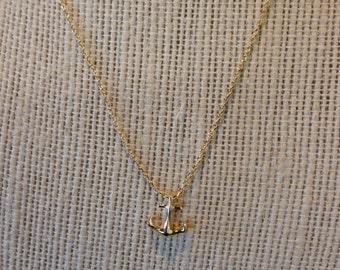 Mini Anchor Necklace