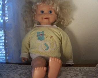 Vintage Playmates Talking Doll