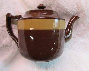 Brown English Teapot