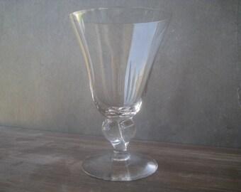 Vintage Crystal Stemware - Set of 4