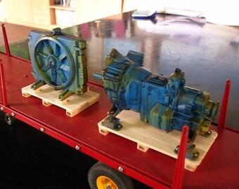 TAMIYA rc, wedico, carson, robbe, ZAPF 1:14 wave MOTOR verrosteter .5 \ 16 for Truck