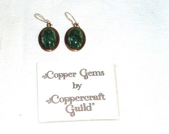 Coppercraft Guild Earrings