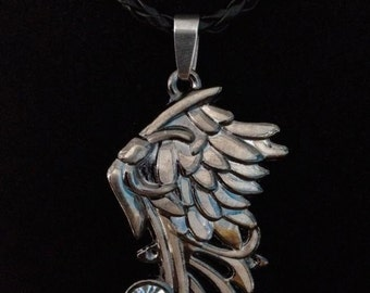 No.7 Wing Pendent Necklace