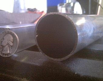 Aluminum Architectural Round Tube .062 x 1.5 x 48 in. 6063 UAAC | (1/16 x 1-1/2 x 48 in.)