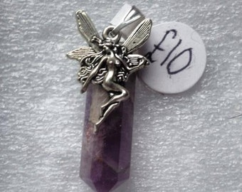 Enchanting Amethyst Point Pixie Pendant