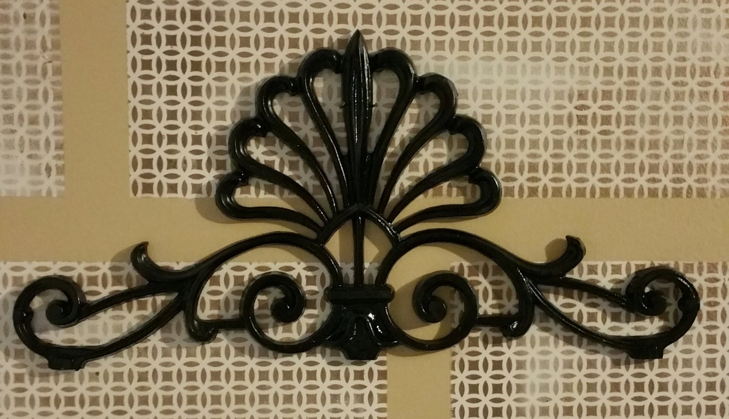 Metal Wall Decor Etsy : Metal wall art decor alluminum cast by irondecorations on etsy