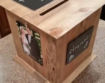 Custom Pinewood Card Boxes