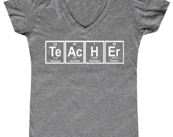 Teacher Element - Ladies' V-neck