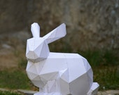 Make Your Own Bunny Sculpture. | Bunny Rabbit | Animal Sculpture | papercraft rabbit | Easter Holiday | Rabbit | Bugs Bunny | cottontail