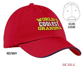 Cool Grandma, Grandma Gift, Grandma Hat, Grandma To Be, Grandma Birthday, Birthday Gift For Grandma, Best Grandma, Awesome Grandma