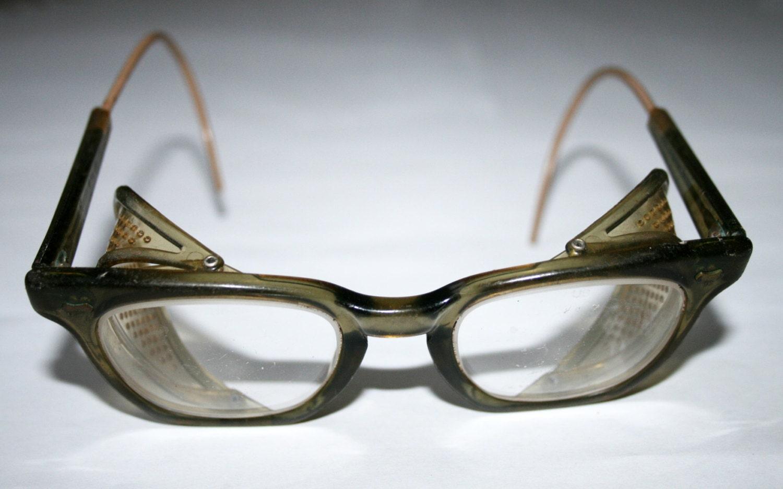 Safety Glasses Vintage 78