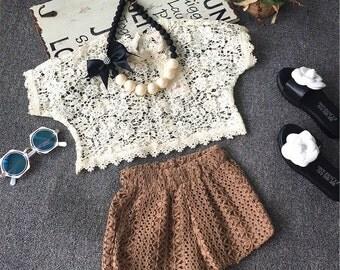 Girls Summer Crochet Set