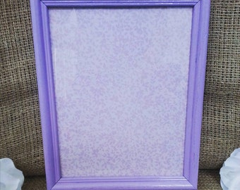 Lavender and Floral Dry Erase Board