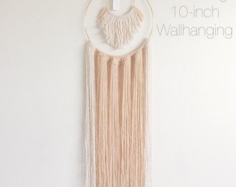 Becoming 10-inch Wallhanging
