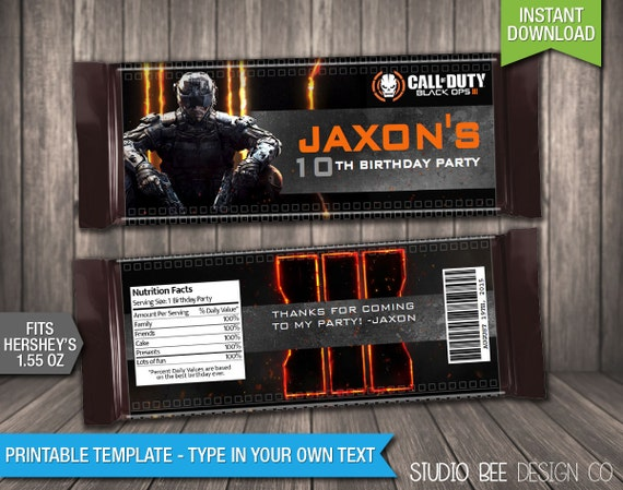 Gift guide cod black ops 3 shopswell for Black ops 3 decorations