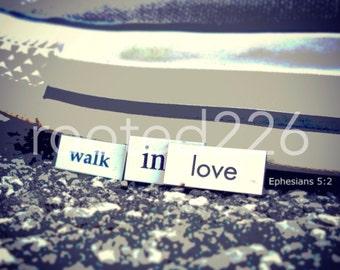 Walk In Love Photograph