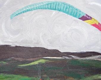 Through the Sky Giclee Art Print