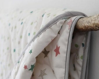 Baby Blanket - Organic Cotton (Starlight/Confetti)