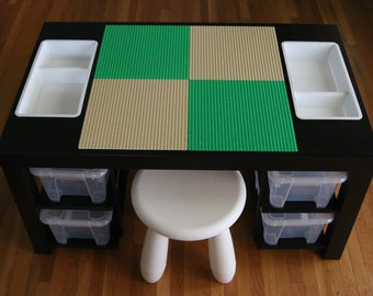 Extra Large Lego Table With Shelves. (FIXED SHIPPING)