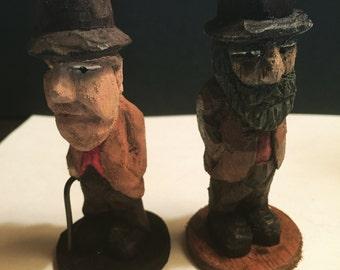 Little old men pair