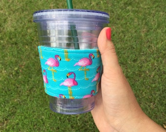 Be a Flamingo Cup Sleeve/Cozy